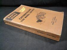 Caterpillar 988 Wheel Loader Tractor Parts Manual S/N 87A531 Book Catalog CAT