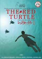 DVD Anime Studio Ghibli THE RED TURTLE Movie A Film By Michael Dudok De Wit
