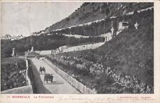 A7544) MONREALE (PALERMO), LA FUNICOLARE. VIAGGIATA NEL 1903.