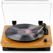 New listing Musitrend Record Player, Vinyl-to-Mp3 Recording w/ Built-in Stereo Speakers