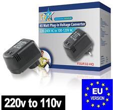 STEP DOWN Convertitore di Tensione 240V - 120V A 110V 45W USA A Europa SPINA UE