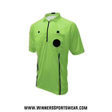 USSF Soccer Referee Jersey in Red, Blue, Green, or Yellow-FREE SHIPPING