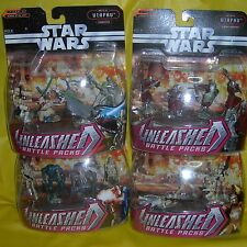Star Wars Unleashed Battle Packs UTAPAU Warriors Commanders Droids Clone Trooper