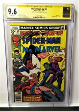 MARVEL TEAM-UP 62 (1977)-CGC SS 9.6 SIGNED BY CHRIS CLAREMONT! FREE SHIP!