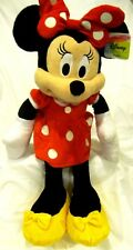 "DISNEY 24"" MINNIE MOUSE RED DRESS PLUSH TOY-LICENSED STUFFED TOY-DISNEY PLUSH"