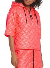 Nike NikeLab Insulated Short Sleeve Hoodie 916368-667 Hot Punch Size M/L RRP$275