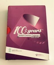 100 Years TURKISH CINEMA'S CENTENARY 1914/2014 Coffret 12 DVD Festival de CANNES