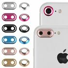 For iPhone 7 & 7 Plus Back Camera Metal Lens Protective Ring Cover Protector