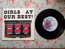 "Girls at Our Best Going for Gold 1981 UK 7"" Vinyl Single Happy Birthday Records"