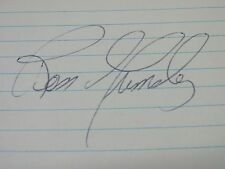 Ross Grimsley Great Signed Autograph Index JSA #241 jh
