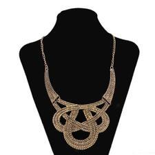Fashion Jewelry Punk Gothic Gold Choker Collar Statement Tribal Necklace