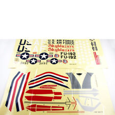 Dekorbogen F-86F Sabre Kyosho 11086-03 # 700792