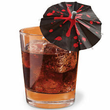 Halloween Blood Drips Drink Parasols 12 ct. from Wilton #1124 - NEW