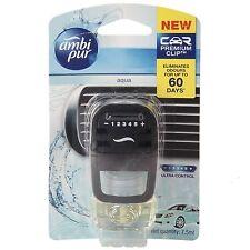 Ambi pur CAR Air Freshener AQUA Fragrance,60 DAYS,7.5 ml,FRESHNER free shipping.