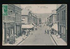 France Haute-Normandie FECAMP Rue d'Etretat Used 1903 PPC