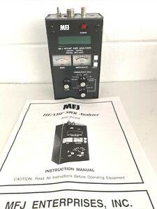 MFJ - 259 - C HF/VHF/UHF SWR Analyzer W LCD Frequency Counter