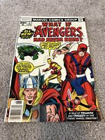 What If #3 The Avengers Had Never Been?  Higher Grade Bronze Age Beauty!!!
