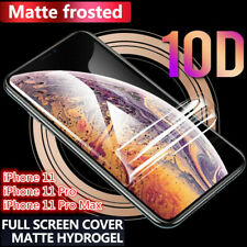 Frosted Front +Back Hydrogel Screen Cover For Apple iPhone 11 Pro Max Xs XR 7 8