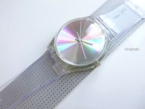 """SWATCH: GENT """"TIME TO DANCE"""" (REF.-NR.:GK244) SILIKON JELLY *NEU / SEHR SELTEN!*"""