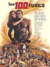 100 RIFLES French Grande movie poster 47x63 RAQUEL WELCH JIM BROWN REYNOLDS NM