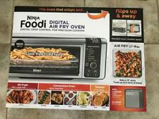 Ninja Foodi SP101 1800W Digital Air Fry Oven - Stainless/Black (100% Brand.New)