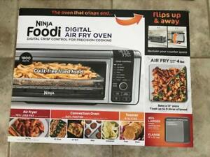 Ninja Foodi SP101 1800W Digital Air Fry Oven - Stainless/Black (100% Brand.New)