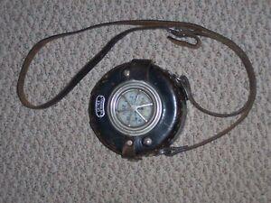 Vintage Detex Newman Watchman Clock