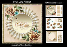 Swan Lake Mini Kit Decoupage 3 x A4 Sheets