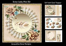 Swan Lake Mini Kit Decoupage 3 x A4 Sheets