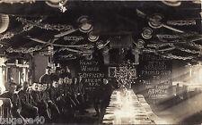 WW1 Soldier Xmas Dinner Barrack hut interior 295th Brigade Royal Field Artillery