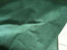 "Majilite Novasuede Fabric in Hunter Green 5 Yard cut- Light Weight. 54"""