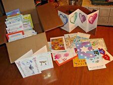 100 HOLIDAY CARDS - JEWISH NEW YEAR, HANUKKAH - RANDOMLY PICKED - P1080A