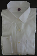 NWT Brooks Brothers White Dress Shirt 16-33 Slim MSRP $180