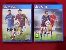 FIFA 15 + Paquete de FIFA 16-Playstation 4 PS4 ~ juegos de fútbol
