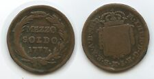 G2894 - RDR Lombardei Milan ½ Soldo (Mezzo) 1777 KM#184 Maria Theresia Mailand