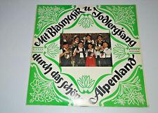 Mit Blasmusik Jodlerg'sang Durch Das Schone Alpenland LP 50056 Vinyl Record R