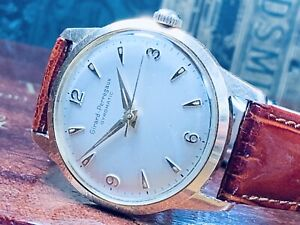1964 GIRARD-PERREGAUX GYROMATIC MAN'S WRIST WATCH IN FINE CONDITION, KEEPS TIME
