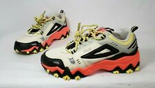 Fila Oakmont Trail New Women's Black Coral Hiking Casual Shoes Size 9.5