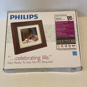 """Philips Home Essentials Digital PhotoFrame 10.4"""" LCD SPF3400/G7 Picture Frame"""