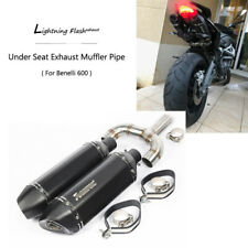 Under Seat Exhaust Set for Benelli 600 TNT Slip On 51mm Rear Muffler Motorcycle