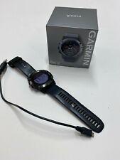 Garmin Fenix 5x 51mm Slate Gray Sapphire with Black Band Gps Watch -.