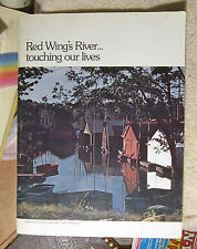Red Wing's River Mississippi touching our lives 1976