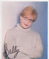 8x10 signed photo #0049 w/AUTOGRAPH - SALLY JESSY RAPHAEL - TALK SHOW HOST
