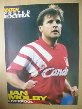 Original Signed Press Cutting- JAN MOLBY at Liverpool FC(11.5x8.2inch)