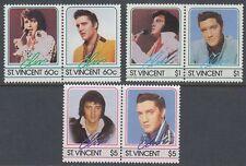 St. Vincent 1985 ** Mi.864/69 Elvis Presley Musik Music [sq6465]