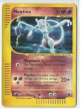 Pokemon Expedition set Mewtwo 20/165 Holo rare reverse Near mint condition