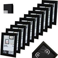 IKEA FISKBO Rahmen In schwarz (10x15cm) Bilderrahmen Fotorahmen