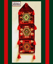 Beduinen Wandmontage Hängetasche aus Damaskunst S 1-4-23