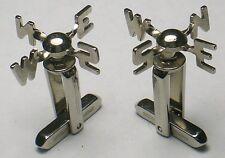 Old Vtg. WEATHERVANE cufflink set (No tie clip) made by HICKOK