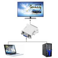DVI to VGA SVGA Converter Adapter DVI-I Dual Link 24+5 pin Male to 15 Female